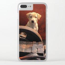 Junkyard stray Clear iPhone Case