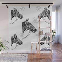 Veloso Racehorse NZ Wall Mural