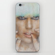 The Lady iPhone & iPod Skin
