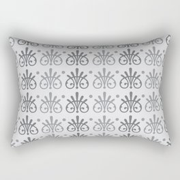Vintage Victorian Pattern Rectangular Pillow