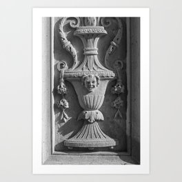 New York Ornate Carving Art Print