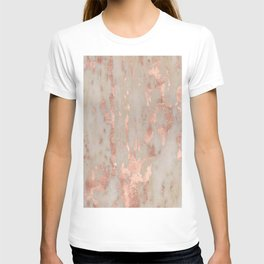 Rose gold Genoa marble T-shirt