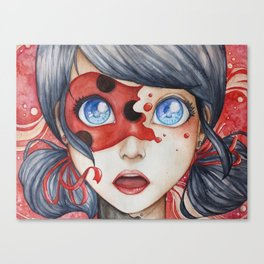 Miraculous Ladybug Canvas Print