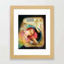 Bubblegum Pop Framed Art Print