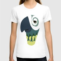 parrot T-shirts featuring Parrot  by Jessica Slater Design & Illustration