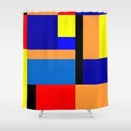 Mondrian #35 Shower Curtain