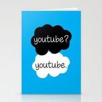 youtube Stationery Cards featuring YouTube? by samonstage_lyrics