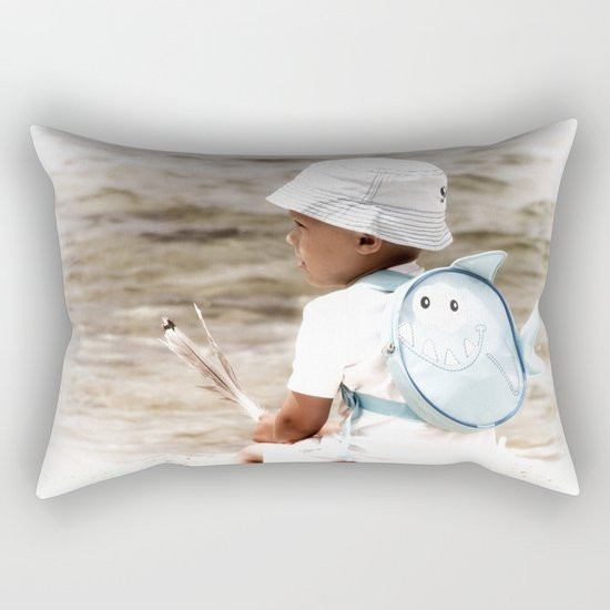 Waiting for... Rectangular Pillow
