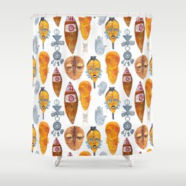 Wild Africa #2 Shower Curtain