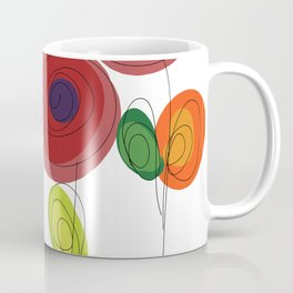Flowers Art Coffee Mug