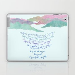 It Is Well With My Soul-Hymn Laptop & iPad Skin