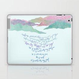 It Is Well With My Soul-Hymn Laptop & iPad Skin