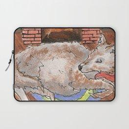 Big Fat Wolf Laptop Sleeve