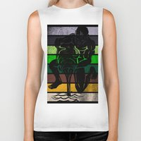 aquarius Biker Tanks featuring Aquarius by Rendra Sy