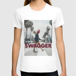 Swagger - Grungy Digital Collage T-shirt