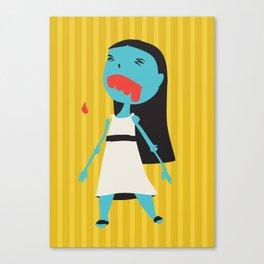Zombie Janet Canvas Print
