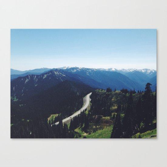 Hurricane ridge Canvas Print