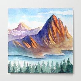 Mountain scenery 4 Metal Print