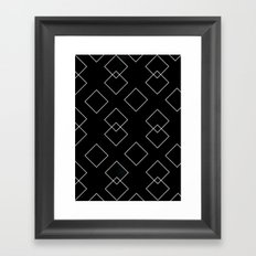 Be There Or Be Square Framed Art Print
