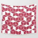 Pink Glitter Cube by prettydesign
