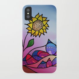 my little village and its sun -3- iPhone Case
