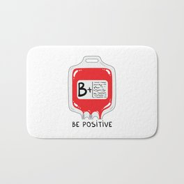 Be positive Bath Mat