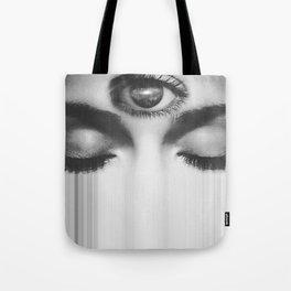 Third Eye Galaxy Tote Bag