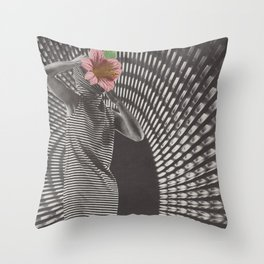 Forced Zones Throw Pillow