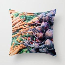 The Market Throw Pillow