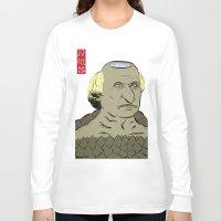 "allyson johnson Long Sleeve T-shirts featuring Andrew ""河童"" Johnson by @DrunkSatanRobot"
