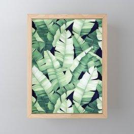 Banana leaves III Framed Mini Art Print