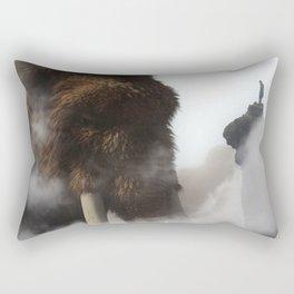 The Giant Mammoth by GEN Z Rectangular Pillow