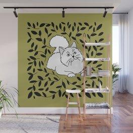 Laurel Cat Wall Mural