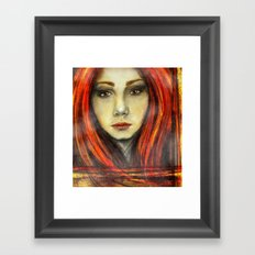 A Girl Called Ina Framed Art Print