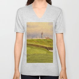 Old Head Golf Course 17th Hole Unisex V-Neck