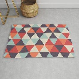 Crazy Color Geometric Pattern Rug