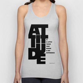 Lab No. 4 - Life Inspirational Quotes Of Attitude Inspirational Quotes Poster Unisex Tank Top