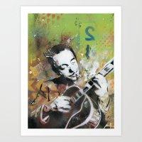 django Art Prints featuring Django by MATEO