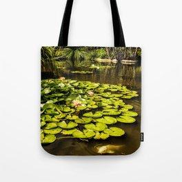 Water Lily Pond at Huntington Gardens No. 2 Tote Bag
