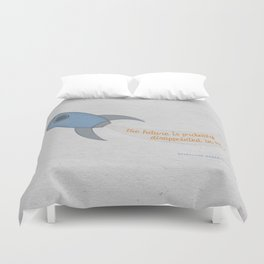 The Future is Probably Disappointed in Us Duvet Cover