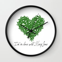 Mary Jane Wall Clock
