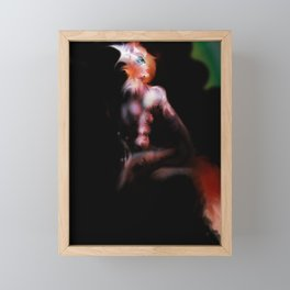 Nuclear Fox, Re-Visited Framed Mini Art Print