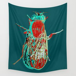 Fruit Fly 2 Wall Tapestry