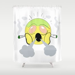 High-Moji (4/20 Edition) Shower Curtain