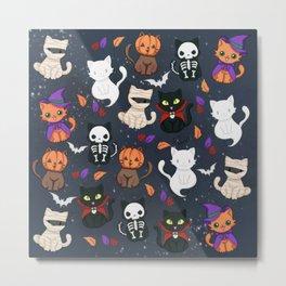 Kitty - Halloween Metal Print