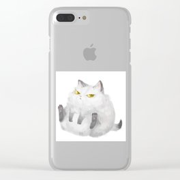 cat Clear iPhone Case