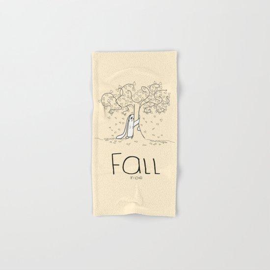 FALL in love Hand & Bath Towel