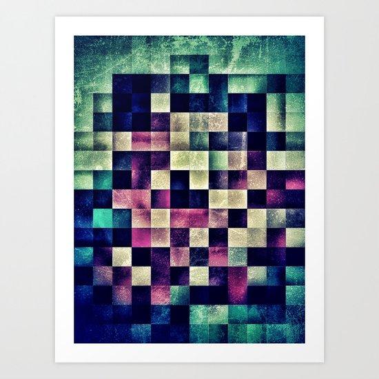 unpixel Art Print
