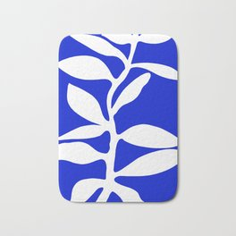 blue stem Bath Mat