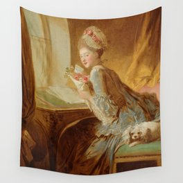 "Jean Honoré Fragonard (1732–1806) ""The Love Letter"" Wall Tapestry"